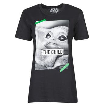 Vêtements T-shirts manches courtes Yurban OUFIMM Noir