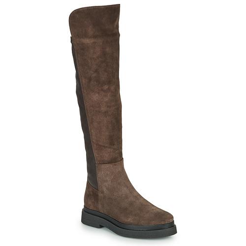 Chaussures Femme Bottes ville JB Martin OLYMPE Marron