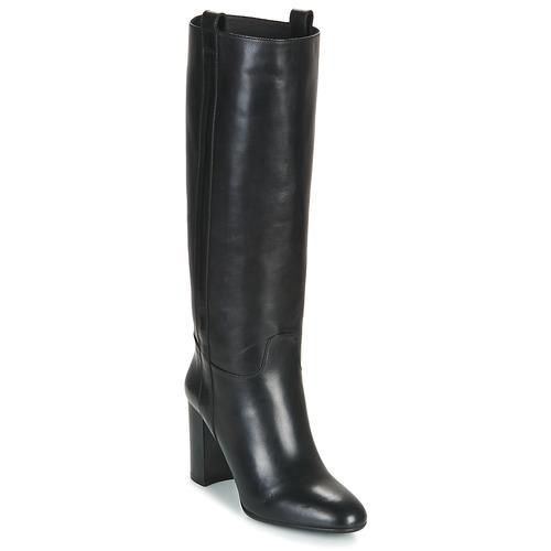 Chaussures Femme Bottes ville JB Martin MODEUSE Noir