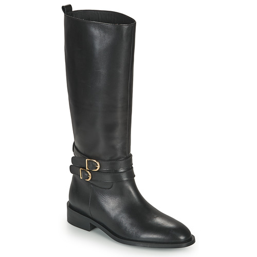 Chaussures Femme Bottes ville JB Martin AMUSEE Noir