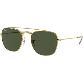 Montres & Bijoux Homme Lunettes de soleil Ray-ban Lunettes de soleil dorées brillantes or
