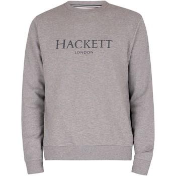 Vêtements Homme Sweats Hackett Sweat Crew gris