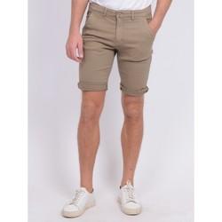 Vêtements Shorts / Bermudas Ritchie Bermuda chino BAVOLTA Marron