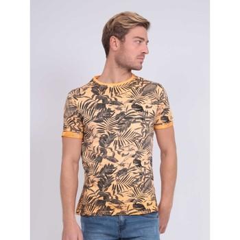 Vêtements Homme T-shirts manches courtes Ritchie T-shirt col rond pur coton NADISON Orange