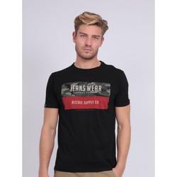 Vêtements Homme T-shirts manches courtes Ritchie T-shirt col rond NALTINO Noir