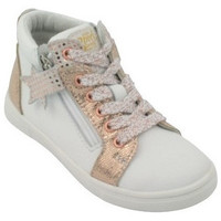Chaussures Fille Boots GBB Boots Vala blanc
