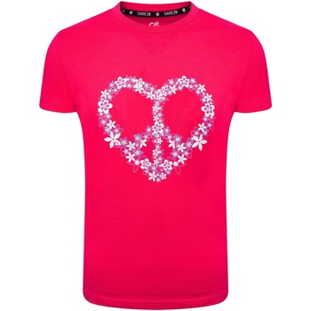 Vêtements Enfant T-shirts & Polos Dare 2b T-shirt imprimé RIGHTFUL Bleu Rose