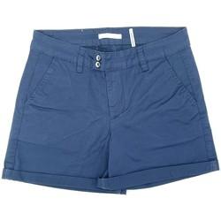 Vêtements Femme Shorts / Bermudas Les Petites Bombes Les Petites Bombes Short Brooklyn Marine V13B005MI14V Bleu