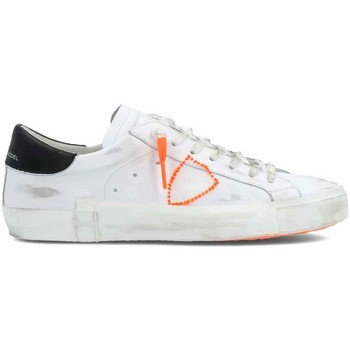 Chaussures Homme Baskets basses Philippe Model  blanc
