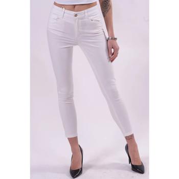 Vêtements Femme Pantalons Fracomina FR21SP2002W40101 blanc