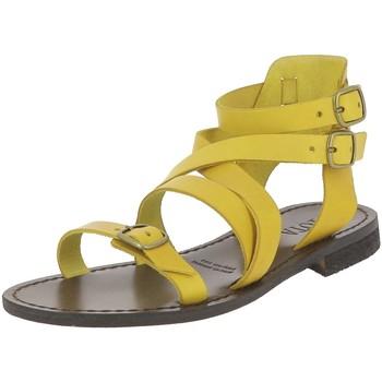 Chaussures Femme Sandales et Nu-pieds Iota SPARTE JAUNE