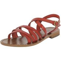Chaussures Femme Sandales et Nu-pieds Iota 539 ROUGE