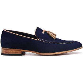Chaussures Mocassins Uomo Design Mocassin Homme Mickaël marine