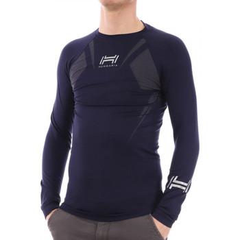 Vêtements Homme T-shirts manches longues Hungaria H-15TOUYY000 Bleu