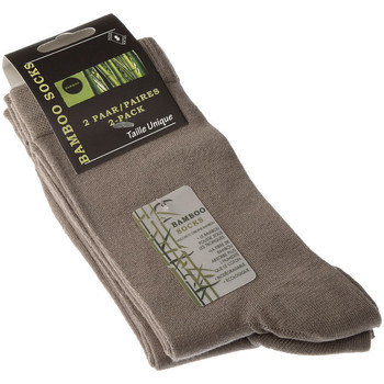 Accessoires Garçon Chaussettes Intersocks Chaussettes Niveau mollet - Bambou - Bamboo socks Beige