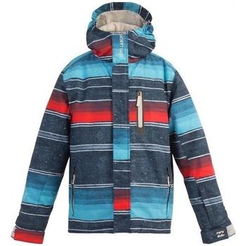 Vêtements Garçon Coupes vent Billabong junior - Blouson ski - bleu Bleu