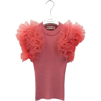 Vêtements Fille T-shirts manches courtes Aniye By Girl 115042 Rose