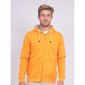 Vêtements Homme Sweats Ritchie Sweat zippé capuche WAMS Orange