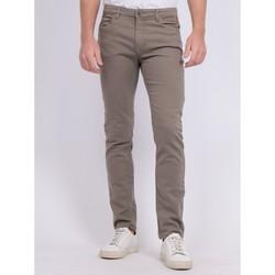 Vêtements Homme Pantalons 5 poches Ritchie Pantalon 5 poches CANDELO Kaki clair