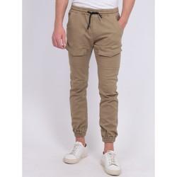 Vêtements Homme Pantalons Ritchie Pantalon battle molleton CLOGO Beige