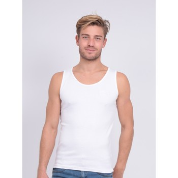 Vêtements Homme Débardeurs / T-shirts sans manche Ritchie Débardeur pur coton organique WILL III Blanc