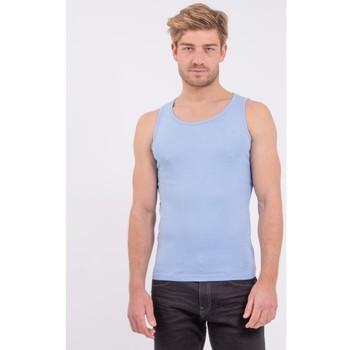 Vêtements Homme Débardeurs / T-shirts sans manche Ritchie Débardeur pur coton organique WILL III Bleu royal