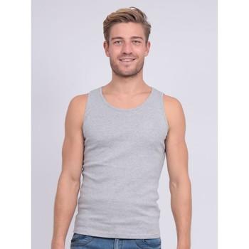 Vêtements Homme Débardeurs / T-shirts sans manche Ritchie Débardeur pur coton organique WILL III Gris