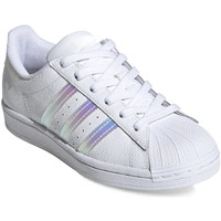 Chaussures Fille Baskets mode adidas Originals Superstar J Blanc