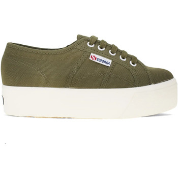 Chaussures Femme Baskets mode Superga 2790 Acotw Linea Up And Down Vert