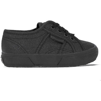 Chaussures Fille Baskets mode Superga 2750 Lamej Noir