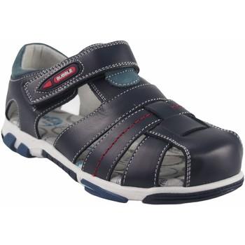 Chaussures Garçon Sandales et Nu-pieds Bubble Bobble Garçon de sport  A2384 bleu Bleu