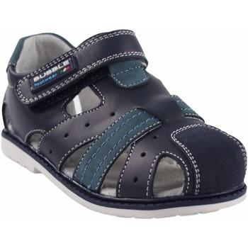 Chaussures Garçon Sandales sport Bubble Bobble Garçon de sport  A2381 bleu Bleu