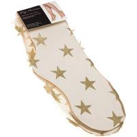 Sous-vêtements Femme Collants & bas Leg Avenue Bas socquettes - Nylon - Glitter star tulle anklets Chair