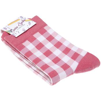 Accessoires Femme Chaussettes Ciccia Socks Chaussettes Mi-Hautes - Coton - PINK PICNICSOCKS Rose