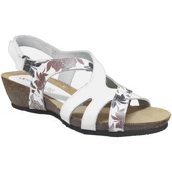 Chaussures Femme Sandales et Nu-pieds Xapatan 4162 Blanc cuir