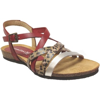 Chaussures Femme Sandales et Nu-pieds Xapatan 5466 Rouge multi cuir