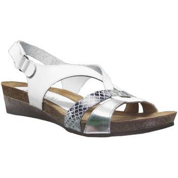 Chaussures Femme Sandales et Nu-pieds Xapatan 9105 Blanc/Argent