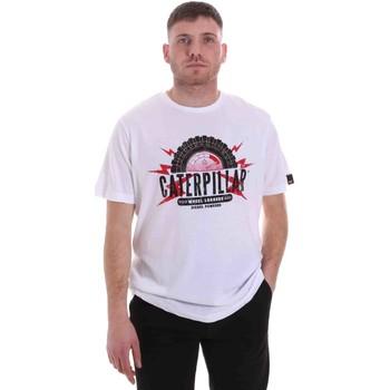 Vêtements Homme T-shirts manches courtes Caterpillar 35CC2510232 Blanc