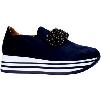 Chaussures Femme Slip ons Grace Shoes MAR015 Bleu