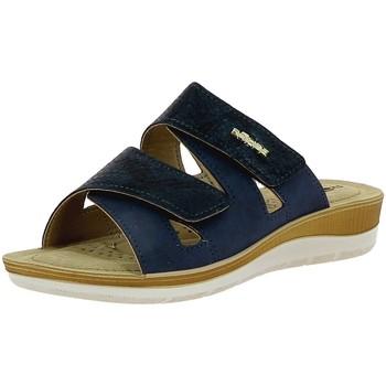 Chaussures Femme Sabots Rohde 1362 Bleu