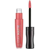 Beauté Femme Rouges à lèvres Rimmel London Stay Satin Liquid Lip Colour 600 5,5 ml