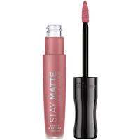 Beauté Femme Rouges à lèvres Rimmel London Stay Satin Liquid Lip Colour 110 5,5 ml