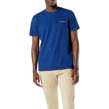 Vêtements Homme T-shirts manches courtes Dockers  Azul