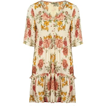 Vêtements Femme Robes courtes Deeluxe Robe MEDELINE Print Hacienda