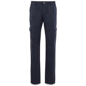 Vêtements Homme Pantalons cargo TBS FUPPACOT Bleu marine