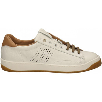 Chaussures Homme Baskets basses Frau FANTASY bianco-cuoio