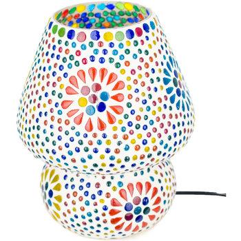 Maison & Déco Lampes à poser Signes Grimalt Champignon Lampe Petite Mosaïque Multicolor