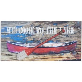 Maison & Déco Tableaux, toiles Signes Grimalt Plaque Murale Barca Remo Multicolor