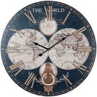 Maison & Déco Horloges Signes Grimalt Monde Horloge Murale Multicolor