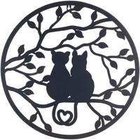 Maison & Déco Tableaux, toiles Signes Grimalt Ornement Negro